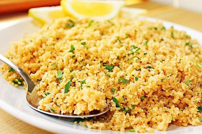 Кускус - пошаговый рецепт приготовления с фото