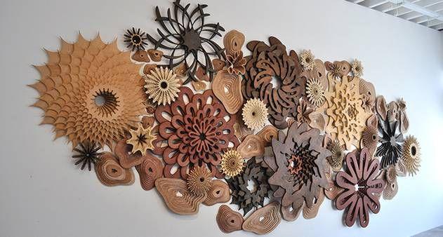 Imagem do dia: esculturas em madeira imitam recifes de corais