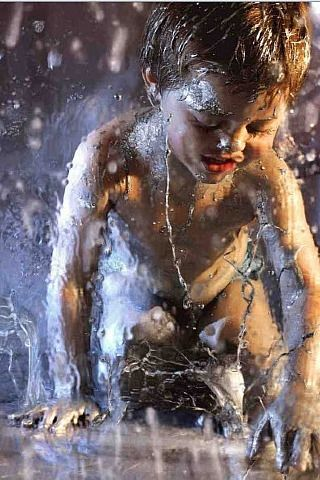 Marilyn Minter, Mercury, an amazing painting. alk about hyper-realism.
