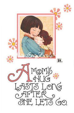 """""""A Mom's Hug"""" Mother's Day Cardby Mary Engelbreit"""