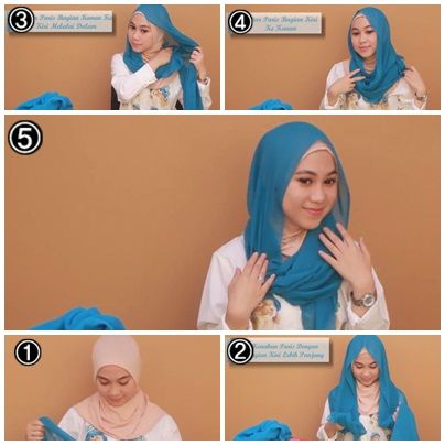 Tutorial Hijab Untuk ke Kampus | Kuliah #1