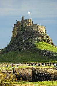 Holy Island Castle, Northumberland, UK