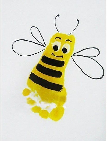 Creative Craft Ideas on Hand and Food print for Kids | www.FabArtDIY.com LIKE Us on Facebook ==> https://www.facebook.com/FabArtDIY