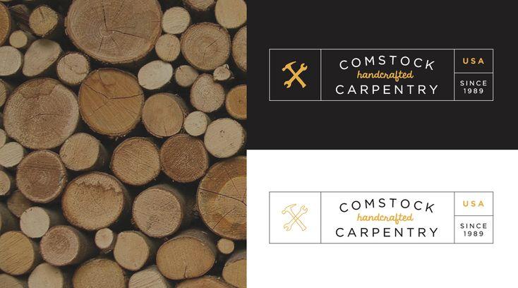 www.dcstudios.rocks   Comstock Carpentry Logo Design #logodesign #dcstudiosinc #comstockcarpentry #graphicdesign #logo #branding #brandidentity #smallbusinessbranding #smallbusiness #design #create