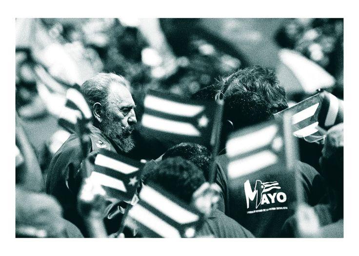 """Por siempre y para siempre. Fidel vive y vivirá por siempre en los corazones de todos los revolucionarios del mundo que . Na veky vekov. Fidel žije a bude žiť navždy v srdciach všetkých revolucionárov na svete. """"FIDEL CASTRO RUZ ,  LA PERSONALIDAD DEL , SIGLO"""" Cita: Andrej Palacko ,  AMOR A FIDEL CASTRO RUZ , Foto: Andrej Palacko"""