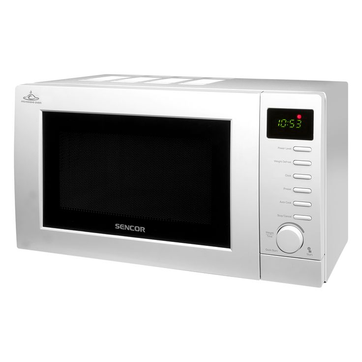 Microwave Oven SMW 3817D - Defrosting based on weight - Pre-programmed cooking (8 menus) - Quick start function