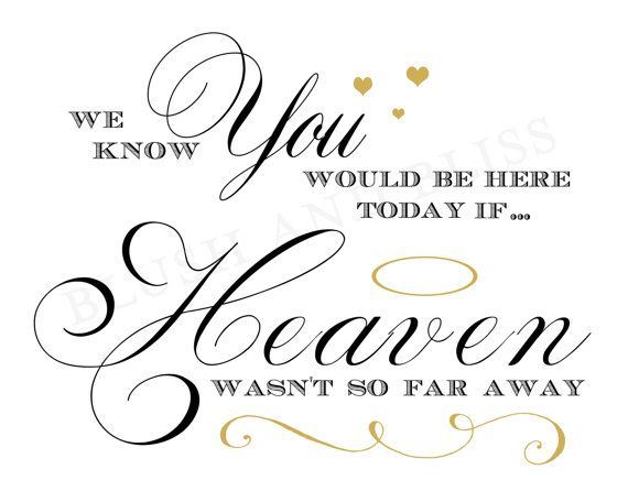 We know you would be here.......