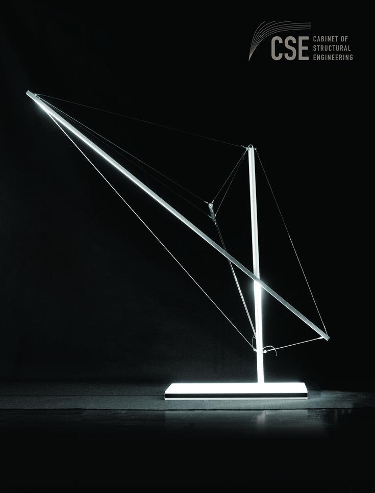 Tensegrity lightings / Sabah Shawkat 2017