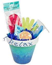 """Have a """"Spa"""" themed Scentsy party and have a spa raffle gift!  This is a great way to get people more involved and you can make one for under $15!"""