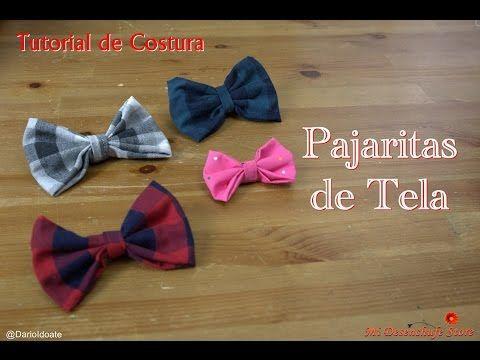 Tutorial #17 - Como hacer una Pajarita - How to make a bow tie - YouTube