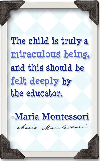 stages of child development according to maria montessori —maria montessori, from childhood to adolescence the montessori developmental continuum montessori education is a flow experience it builds on the continuing self-construction of the child—daily, weekly, yearly—for the duration of the program.