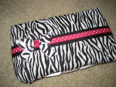 diaper wipe case tutorial