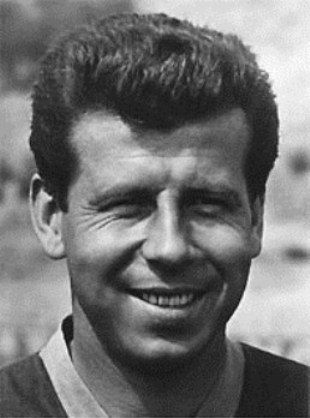 "Josef Masopust (1931) - football player, European Footballer of the Year in 1962 (""Golden ball"" holder).  #Czechia #Czechoslovakia"