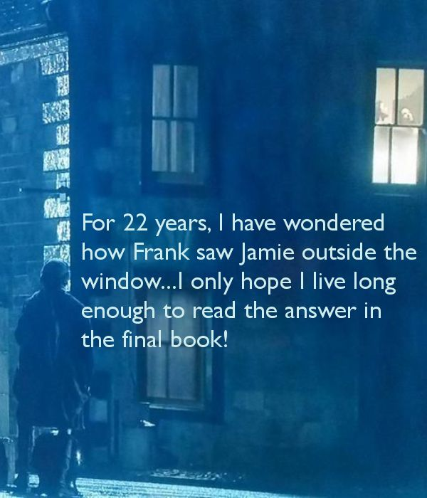 The ghost of Jamie????