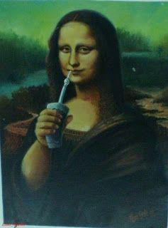 Del tereré se vive... ¿Ahora saben por qué sonríe la Mona Lisa?...¡¡porque toma tereré...! El mate helado, característico de Paraguay y de las provincias norteñas de Argentina...  Tereré es onomatopeya de los últimos tres sorbos de chupar la bombilla...