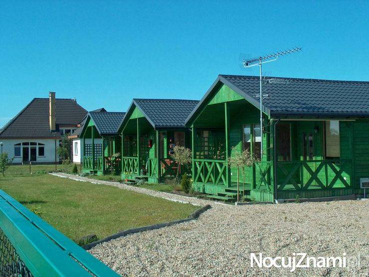 Domki letniskowe GREEN - NocujZnami.pl || Noclegi nad morzem ||  #apartamenty #morze #apartments #polska #poland || http://nocujznami.pl/noclegi/region/morze