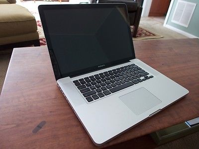 "Macbook Pro 15.4"" Late 2008 A1286 4 GB RAM - DOES NOT BOOT NO HARD DRIVE"