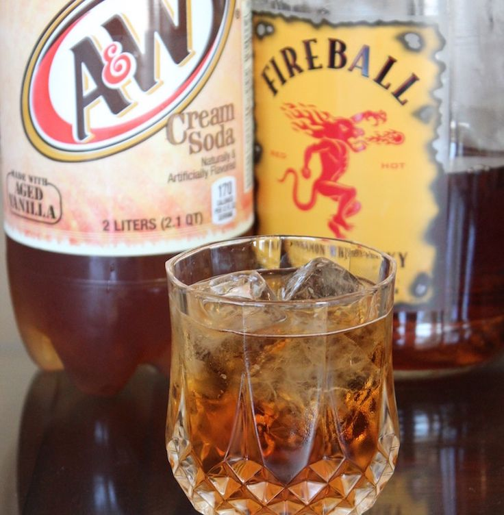 Cinnamon Bun Cocktail Ingredients  1 Part Fireball Whiskey3 Parts Cream Soda  Serves: 1  Directions  Pour ingredients into a shakerAdd ice and shakePour and enjoy!