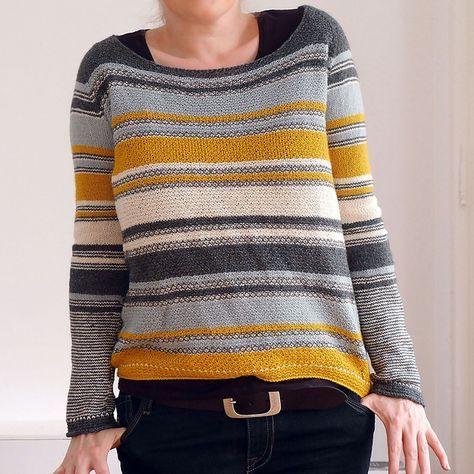Modification Monday: Mouton Mix Sweater   knittedbliss.com