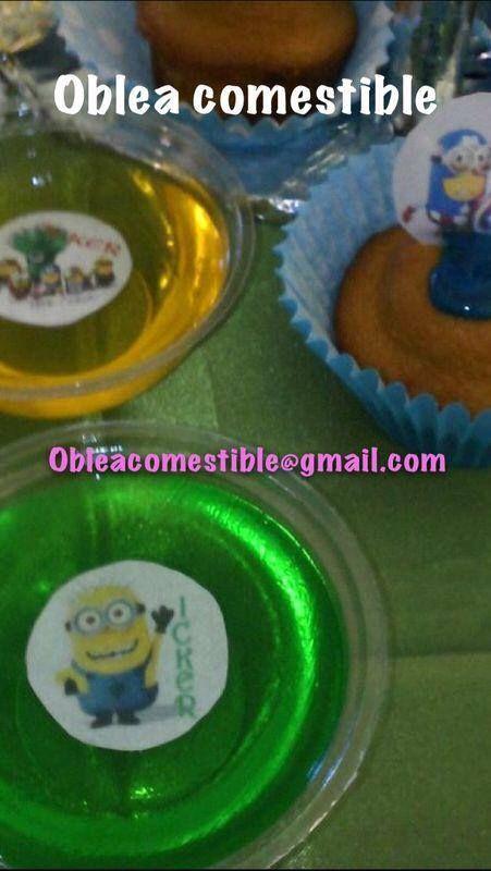 Informes:  obleacomestible@gmail.com      https://www.facebook.com/ObleaComestiblePersonalizada