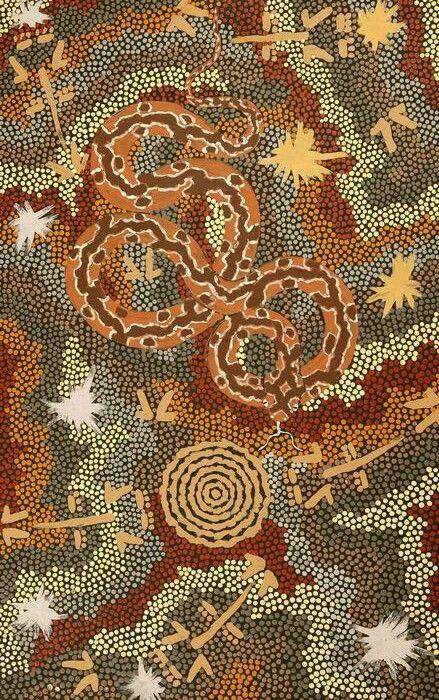 Australia's most renowned Indigenous artist, Clifford Possum Tjapaltjarri.