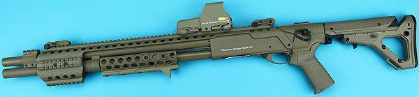 GPSHG021CS G&P Metal M870 Tactical Shotgun w/ magpul UBR Stock (Dark Earth) | エアーコッキング本体,ショットガン |  | GUNMALL TOKYO WEB SHOP
