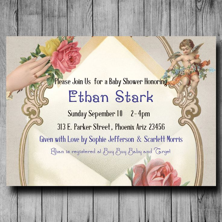 baby shower invitation for twins%0A Baby Shower Invitation for boy or girl Angel by DivineGiveDigital