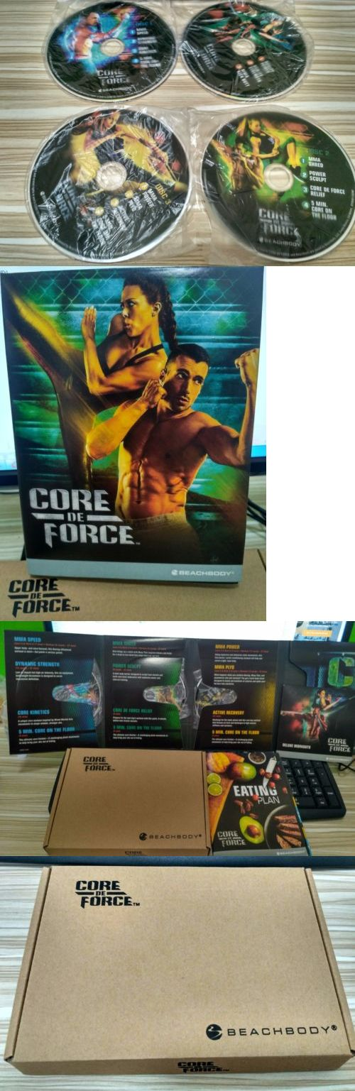 Fitness DVDs 109130: New Core De Force Dvd Deluxe Kit 4 Dvds Bonus Deluxe Workouts Dvd Free Shipping! -> BUY IT NOW ONLY: $30.27 on eBay!