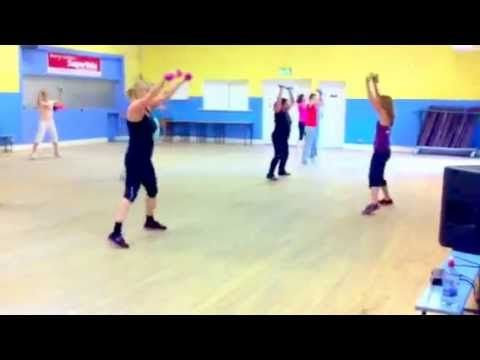 """""""Zumba Toning""""-Rock your Body-FULL BODY WORKOUT VIDEO . """"Zumba Toning"""" Video with Debs - YouTube"""