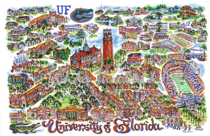 University of Florida - the greatest place on earth.