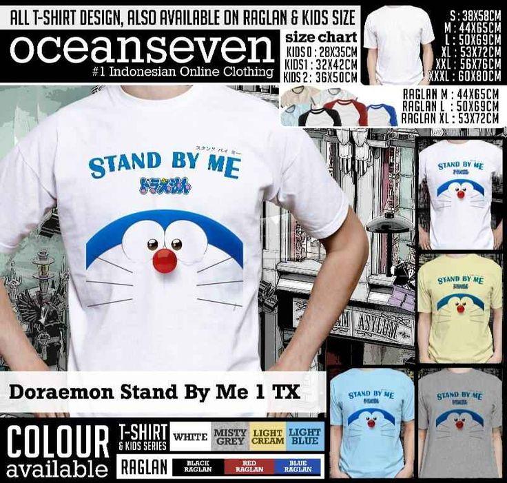 Kaos Doraemon Stand by Me: Kaos Doraemon Stand by Me Nobita, Kaos Doraemon Stand by Me Suneo, Kaos Doraemon Stand by Me Shizuka