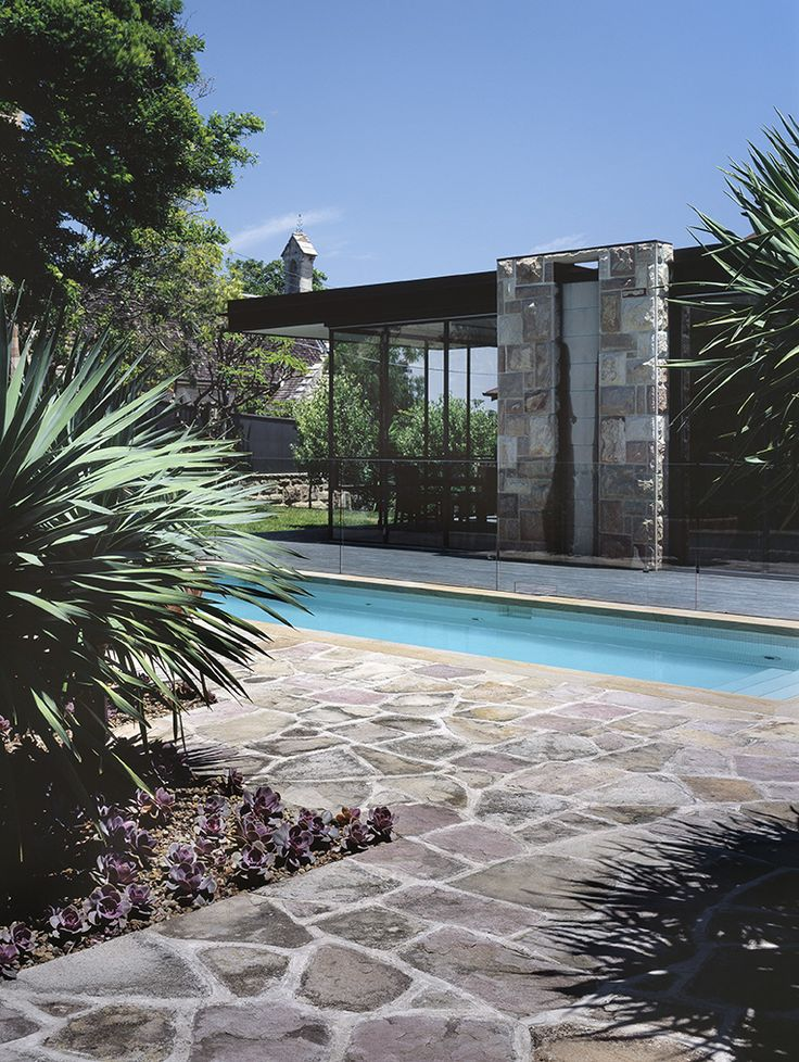 Pool to House 2