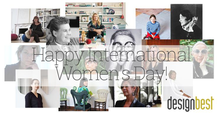 Today we celebrate all women!! Take a look to our top10 products designed by women!!    #iwd #internationalwomensday