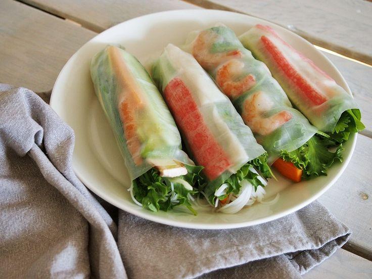 vietnamilaiset rullat, resepti, ruoka - White Trash Disease | Lily.fi