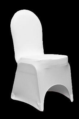 white chair cover