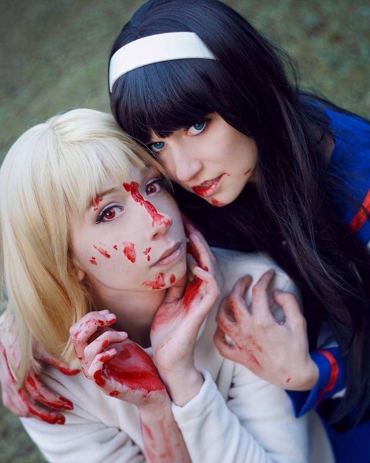 Офигенная фотка ___ Photo by Makina <33333 @poor_juli #amunina #anime  #animecosplay  #cosplay  #cosplaygirl #tsukihimecosplay  #tsukihime  #akiha #akihatohno  #vampire