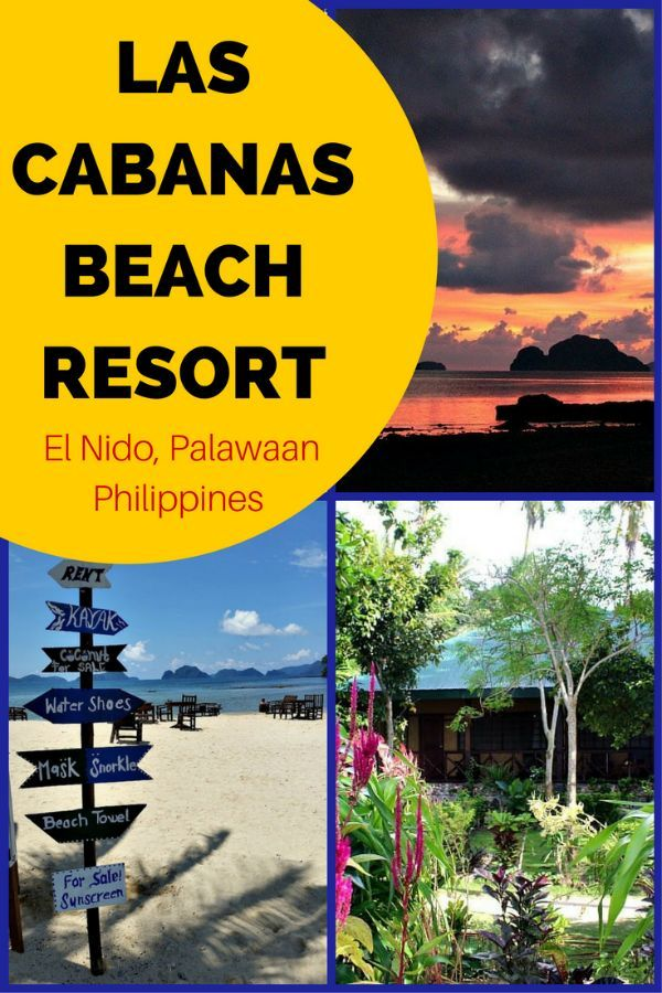 Las Cabanas Beach Resort Is Known As The Best Place To Be Witness Most Incredible Sunsets On Island Of Palawan