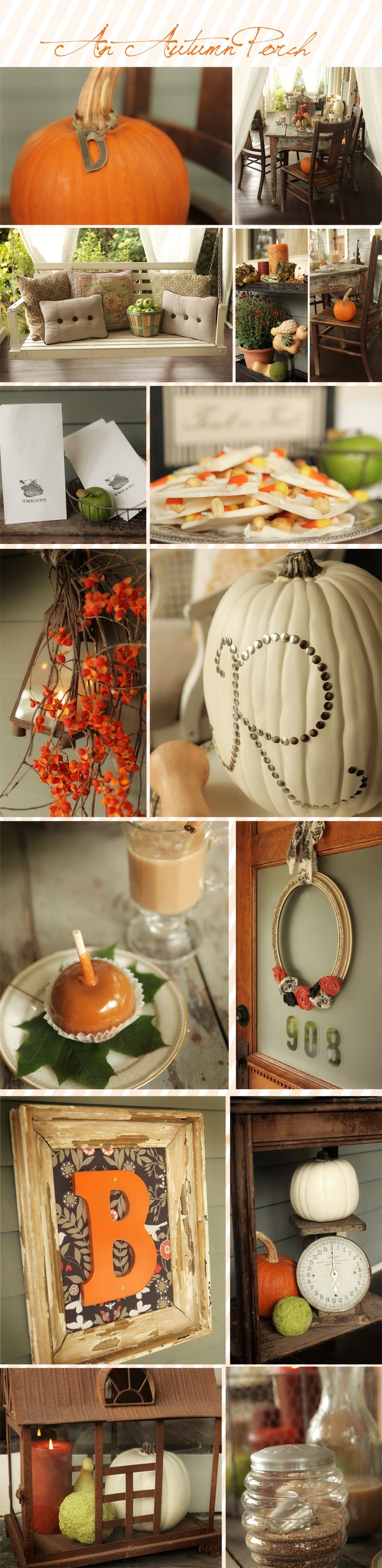 Some great Fall decor ideas!