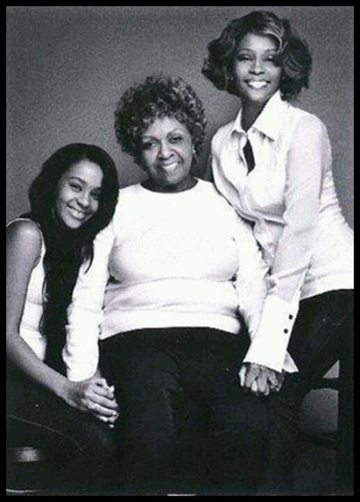 Generations - Whitney Houston, her mom and daughter: