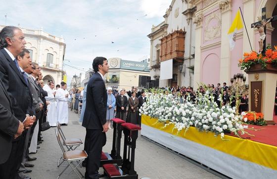 Se celebró la solemnidad del Señor del Milagro 15 de Setiembre 2012