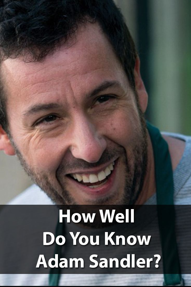 Another astonishing fact is that he never writes jokes as a stand-up comedian. Instead, he prefers to come up with his jokes in front of his audience on stage. Now, after all these surprises about Adam Sandler, what else don't you know? let's start this quiz to see how well do you know Adam Sandler?