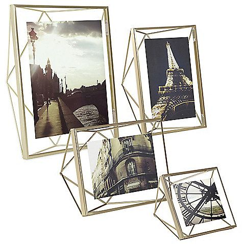 double glass picture frame by umbra