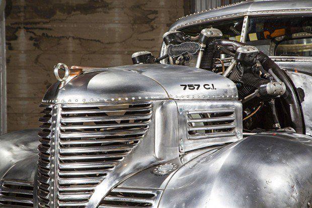 Esta picape Plymouth com motor radial de 12,4 litros queria ser um avião, mas é…