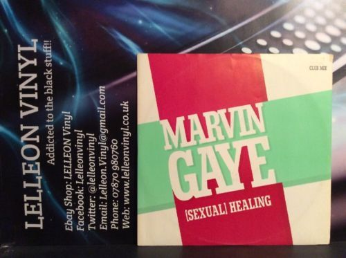 "Marvin Gaye Sexual Healing 12"" Single Club Mix CBSA132855 Soul 80's Music:Records:12'' Singles:R&B/ Soul:Soul"