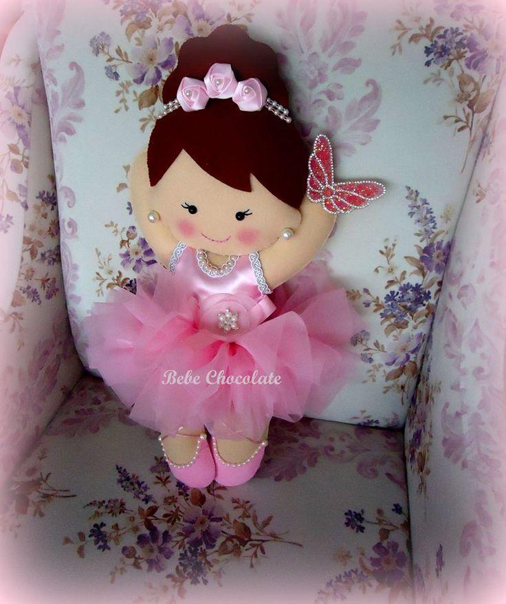 felt ballerina pillow 65 cm, felt baby pillows for baby's gold gifts, keçe balerin, takı yastığı, balerin kapı süsü, felt, handmade, baby wreath ideas, felt ballerina baby pillow for hospital room