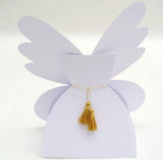 angel favor boxes