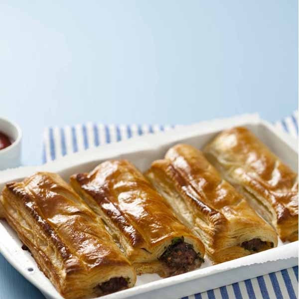 Reheated, home-made sausage rolls make the best on-the-go winter treat (not for slimmers though!). #recipe #picknpay