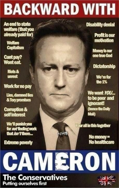 "David Cameron presides over the most ""Corrupt UK Government"" ever..."