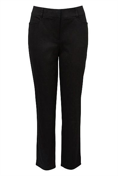 Women's Pants | Sateen Crop