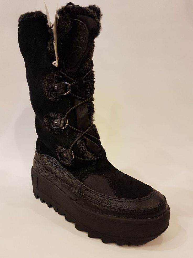 Women's PAJAR Native boots, black, size 40 | NEW #Pajar #MidCalfBoots